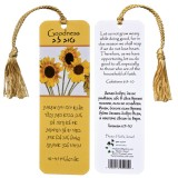 Goodness Scripture Bookmark from Israel