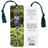 Word Scripture Bookmark from Israel